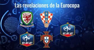 Los cinco jugadores revelación de la Euro para The Guardian