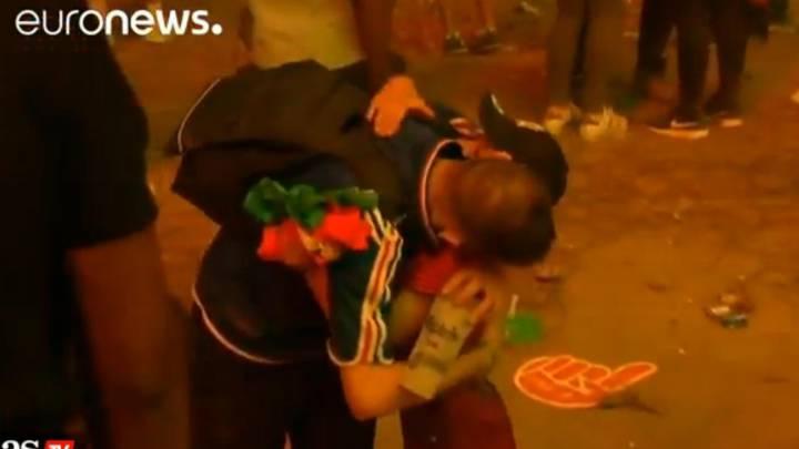 El niño que abrazó al francés: \