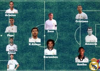 El 11+1 de los madridistas campeones de la Eurocopa