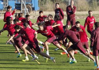 El Atlético afina la puntería con Gil Marín de espectador