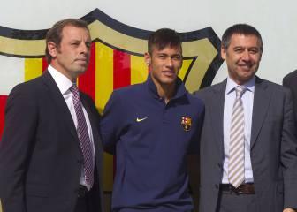 El Barça admite que el contrato de Neymar fue para defraudar