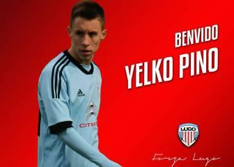El Lugo ficha a Yelko Pino, ex del Celta, por tres campañas
