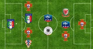 Ronald Koeman elige su once ideal de la Eurocopa
