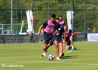 Fayçal, Juanfran y Borges se unen a los entrenamientos