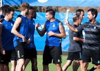 Roberto, Reyes, Jurado y Leo Baptistao: un Espanyol atlético