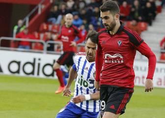 Alain Oyarzun, una temporada más cedido en el Mirandés