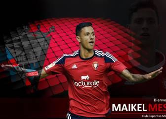 El Mirandés ficha al centrocampista Maikel Mesa