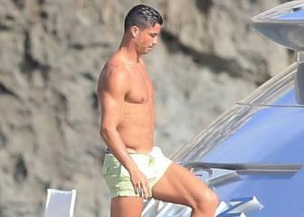 Cristiano y Messi, vacaciones separados por cinco millas