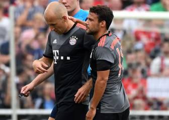 Ancelotti se estrena con triunfo ajustado y Robben se lesiona