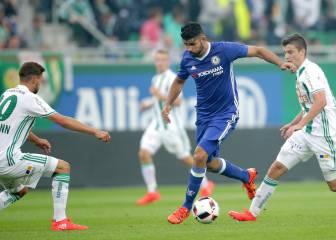 Conte sufre su primera derrota en el Chelsea; Costa fue titular