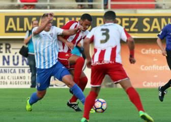 El nuevo Málaga de Juande golea a un digno Algeciras