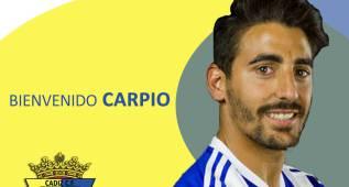 El Cádiz refuerza el lateral derecho con Carpio