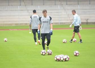 Casillas suplente en el estreno de pretemporada del Oporto