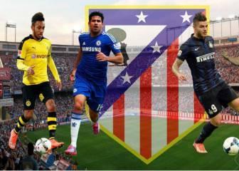 Costa, Aubameyang, Gameiro, Icardi..: Simeone espera un 9