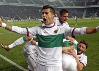 Sergio León, cada vez más cerca del Sporting por 1'2M€