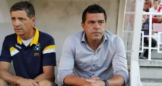 """Cosmin Contra: """"Hemos estado muy espesos, faltó chispa"""""""