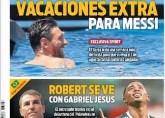 Más vacaciones para Messi y se peina el mercado brasileño