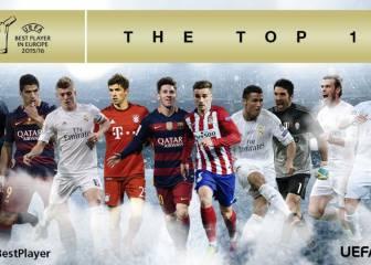 7 de LaLiga, finalistas al Mejor Jugador UEFA: no está Neymar