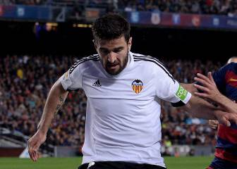 Barragán se despide de la afición del Valencia