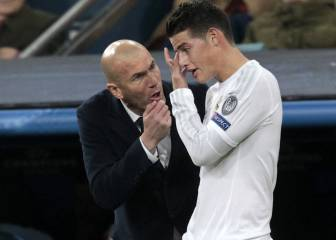 ¿James? Es jugador del Madrid, hablaré con él cuando llegue