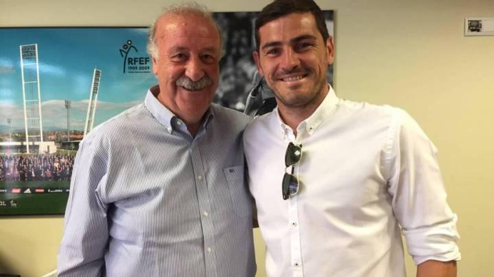 """Del Bosque: """"¿Casillas? Me sigo considerando su amigo..."""""""