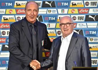 Giampiero Ventura, presentado como seleccionador italiano