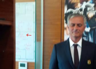 ¿Aparece Pogba en la pizarra de Mourinho en Manchester?