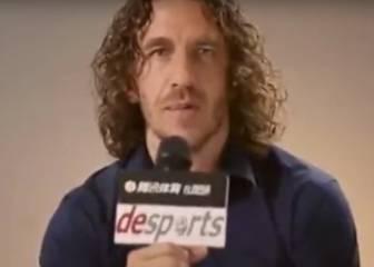 Críticas a Carles Puyol en las redes por decir: