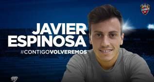 El Levante ficha a Espinosa para las dos próximas temporadas