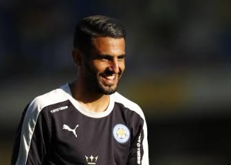 Arsenal y City tientan a Mahrez, pero Ranieri dice que se queda