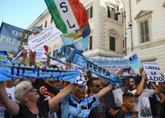 La afición del Lazio se planta: sólo se han vendido 11 abonos