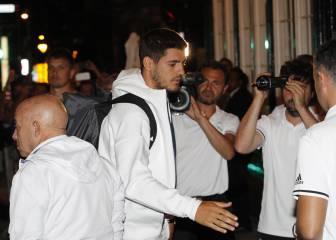 Morata, Lucas y Sergio Díaz se incorporan a la concentración