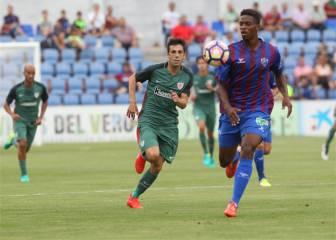 El Huesca plantó cara al Athletic en El Alcoraz