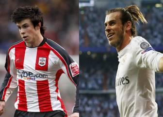 La evolución de los peinados de Gareth Bale