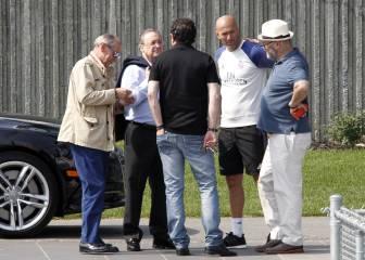 Zidane, pendiente de los casos Paul Pogba y André Gomes