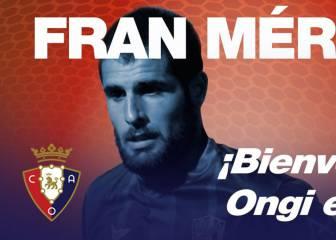 El Huesca oficializa el traspaso por Mérida a Osasuna