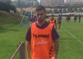 El Pucela firma a Sergio Marcos hasta 2019