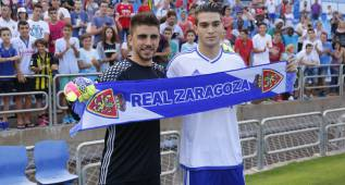 """Irureta y Popa: """"Venimos al Real Zaragoza a ascender a Primera"""""""