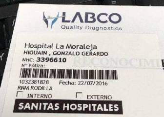 Higuaín pasó reconocimiento con la Juventus en Madrid