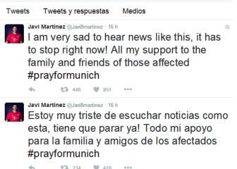 Ancelotti y Javi Martínez, tristes y en shock por la tragedia