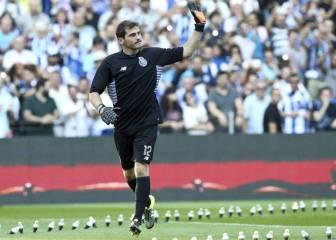 Casillas vuelve a ser titular y el Oporto, gana por 1-2 al Vitesse