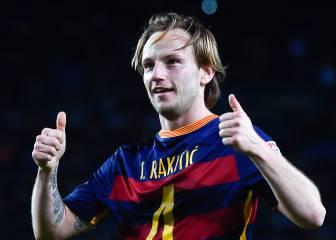 Luis Enrique evita que Rakitic se plantee su marcha del Barça