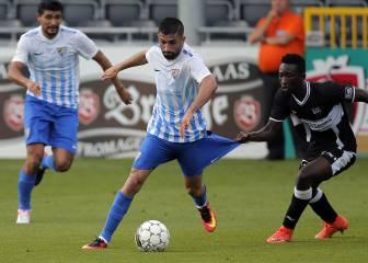 Sandro, Keko y Jony ponen la salsa del gol a un buen Málaga
