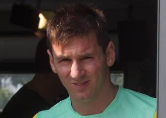 Messi renuncia a 7 días de vacaciones y viaja a Inglaterra