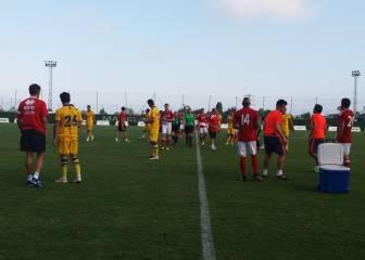 Negredo y Valdés debutan en el empate entre Boro y Alcorcón