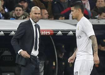 Mensaje de James a Zidane: