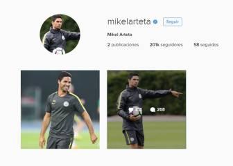 Arteta borra su pasado 'Gunner' de su cuenta de Instagram