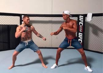 Cristiano se reta con McGregor, el mejor luchador de UFC