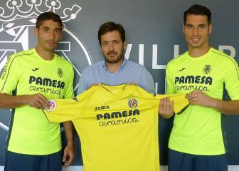 A. Fernández y José Ángel ya entrenan con el Villarreal
