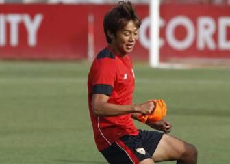 El japonés Kiyotake ya está con el Sevilla en Alemania